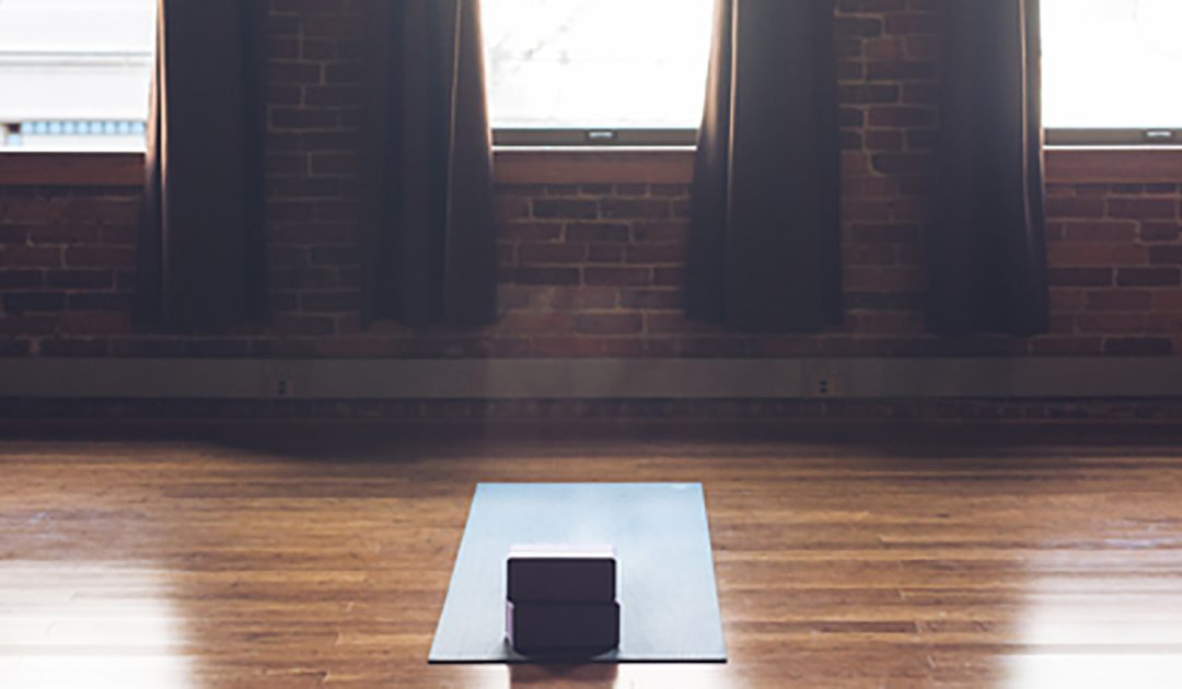 On a Sunday morning in frog pose, I learned